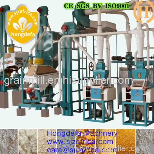 Good quality for maize pressing plant Maize milling machine