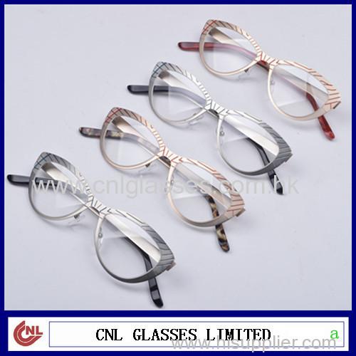 86823d78dc0 Fashionable eyeglasses frames titanium glasses frame stainless steel metal  eye wear
