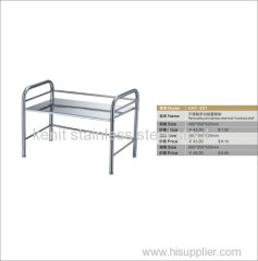 removable pure stainless steel multi-functional shelf