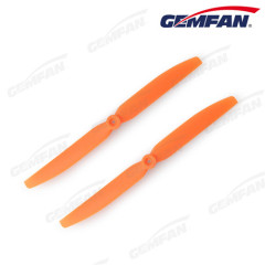 Gemfan 8060 8X6EP Direct Drive Orange Fixed Wings rc airplane model Drone Props ABS Plastic Propeller Plane for UAV