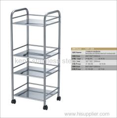 multi-layer stainless steel shelf