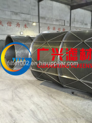 Wedge wire rotary drum screen -manufacturer
