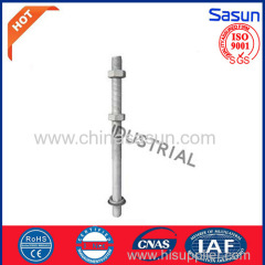 machne bolt for electric power fittings