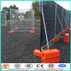 Metal Frame Material and Hot Dipped Galvanized 42Microns Frame Finishing Temporary Security Fence