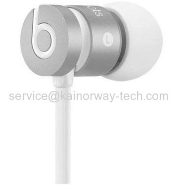 Beats by Dre urBeats Earbuds Headphones With Control Talk Special Edition Silver