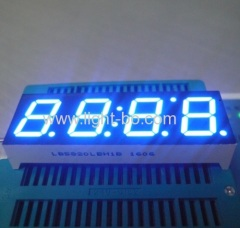 Ultra wit 14,2 mm Vier Cijfer 7 segment LED display voor Klok Indicator
