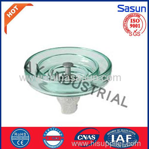 Disc Glass insulator for fog type