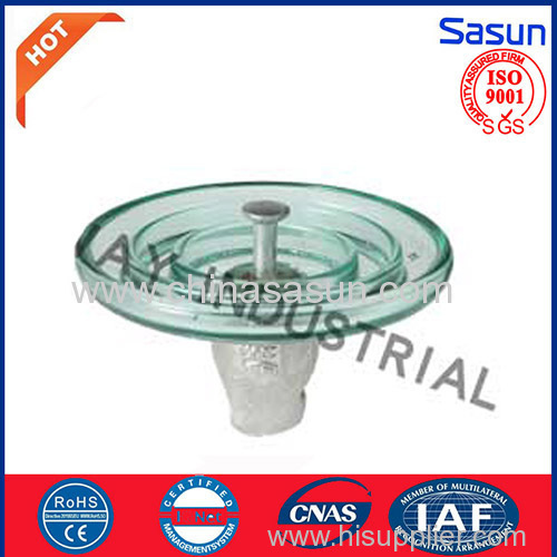 Glass suspension insulator U70/BL