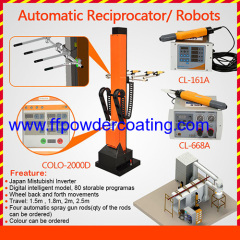 automatic powder coating reciprocator for sale
