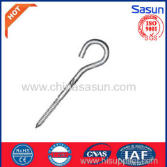 hook screw for electric power fittings