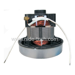 Dry type DC vacuum cleaner motor
