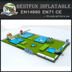 Water Park Metal Frame Blue Ocean Swimming Pool