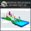 Folding metal frame swimming pool for water park