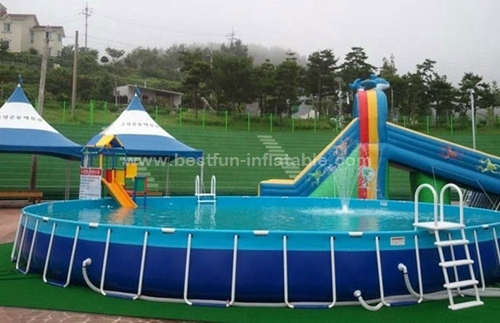 Ground Stand paddle inflatable Swimming Pool