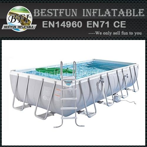 Customized metal wall swimming pool