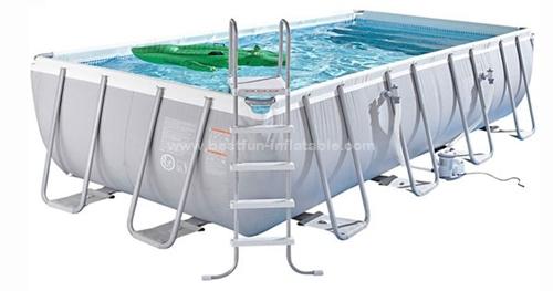 Intex steel frame metal wall swimming pool