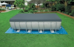 Metal frame outdoor pvc swimming pool