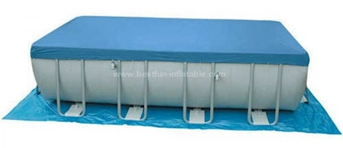 Metal frame outdoor pvc swimming pool