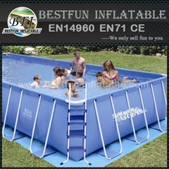 Family Summer Metal Frame Swimming Pool