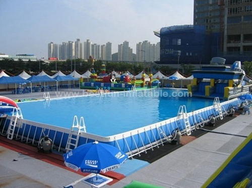 Prefabricated Folding Steel Frame Swimming Pool Manufacturers And Suppliers In China