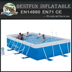 Super tough Metal Wall Swimming Pool