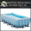 Stainless Steel Metal Frame Swimming Water Pool