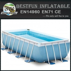 Foldable Tarpaulin Support Square Pool