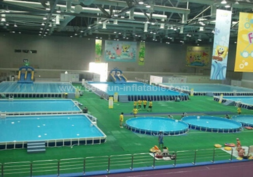 Water Park Metal Frame Swimming Pool Manufacturers And Suppliers In China