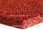 Durable EPDM Granular Rubber Flooring Fadeless Red Safety High Flexibility