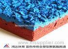 14mm Synthetic Granular Rubber Flooring Non Dust For Sports Stadium