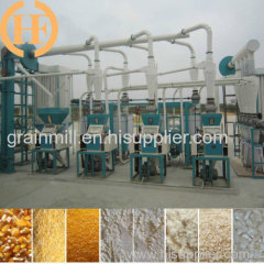 Corn maize grinding milling machine with suitable price