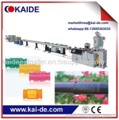 extruder machine for drip irrigation pipe line