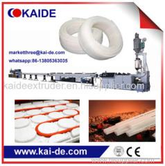 PERT heating pipe extrusion machine China supplier 50m/min speed