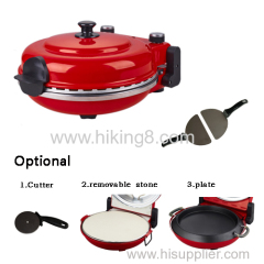 electric oven stone pizza maker machine