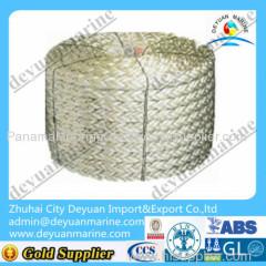 Marine nylon mooring rope