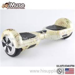UL2272 Hoverboard 2 Wheels Classic 6.5'' Electronic Hoverboard Self Balancing Scooter