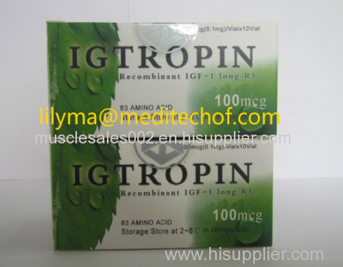 peptides/HGH/IGF-1 LR3/ Igtropin/ Top Quality HGH with Suitable Price/ Human Growth Hormone