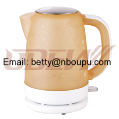 1.7L Transparent Plastic Electric Kettle Water Kettle