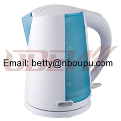 Plastic Concealed Electric Kettle 1.7L