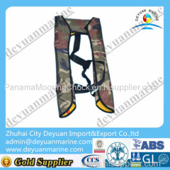 DY manual inflatable life jacket