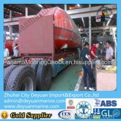 Hydraulic slewing crane &rescue boat liferaft landing device