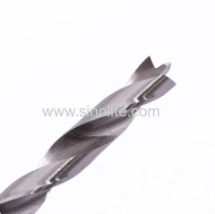 Wood working 3 brad points drill bit bright finish size 3-20mm