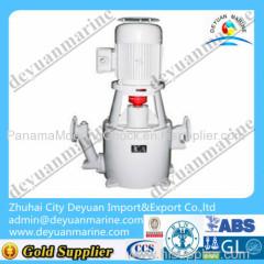 Hydraulic single gyspy mooring winch