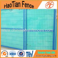 PVC Powdering Temporary Fence With Gates