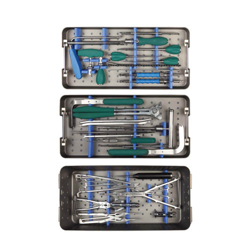 Spine System Instruments Set Pedicle Screws Instruments Spinal Screw Rod System Instruments Orthopaedic Instruments