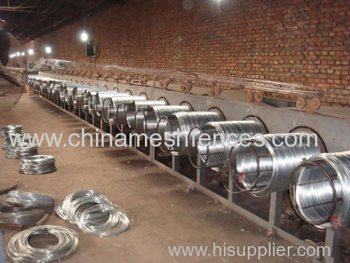 electro galvanized Iron wire hot dip galvanized ion wire binding wire facotry price