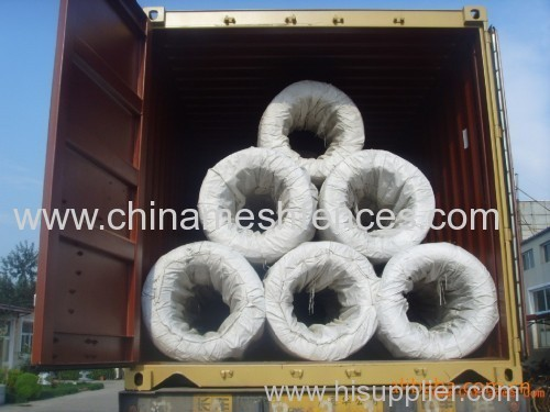 Low price soft hot dipped galvanized iron wire of different gauge