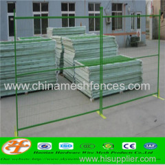 Powder Coated Temporary Fence Panels High Visibility 6ftx10ft Canada Galvanized temporary fence