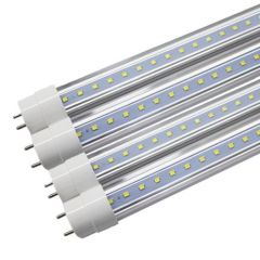 China Supplier Plastic LED Tube T8 Lighting 110-240V G13 Lamp Base LED Tube 18W 1980Lm