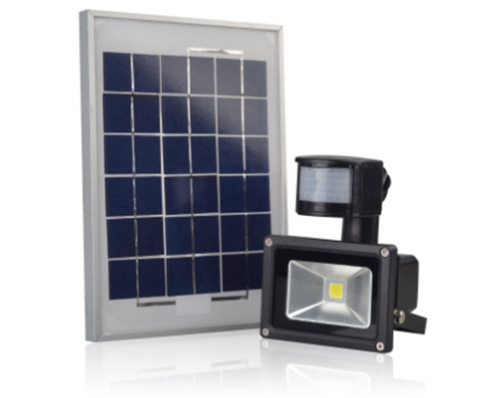 Solar Powered LED Wall Pack Light IP65 with PIR Motion Sensor